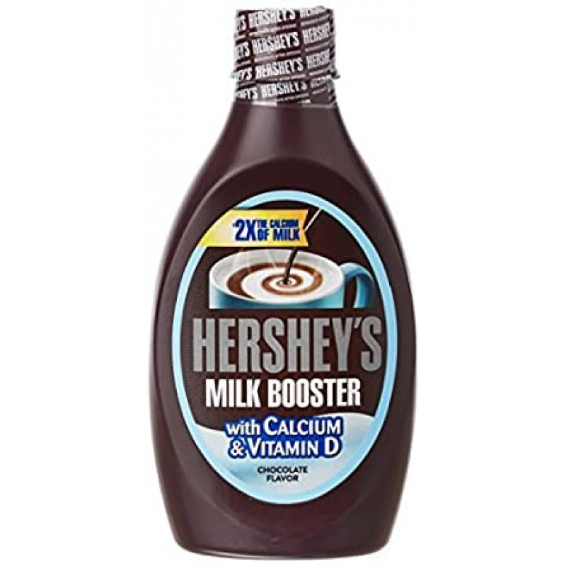 HERSHEY'S MILK BOOSTER WITH CALCIUM & VITAMIN D 450GM