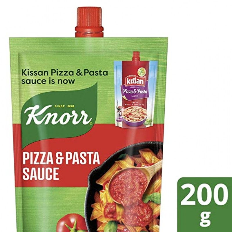 KNORR PIZZA & PASTA SAUCE 200GM