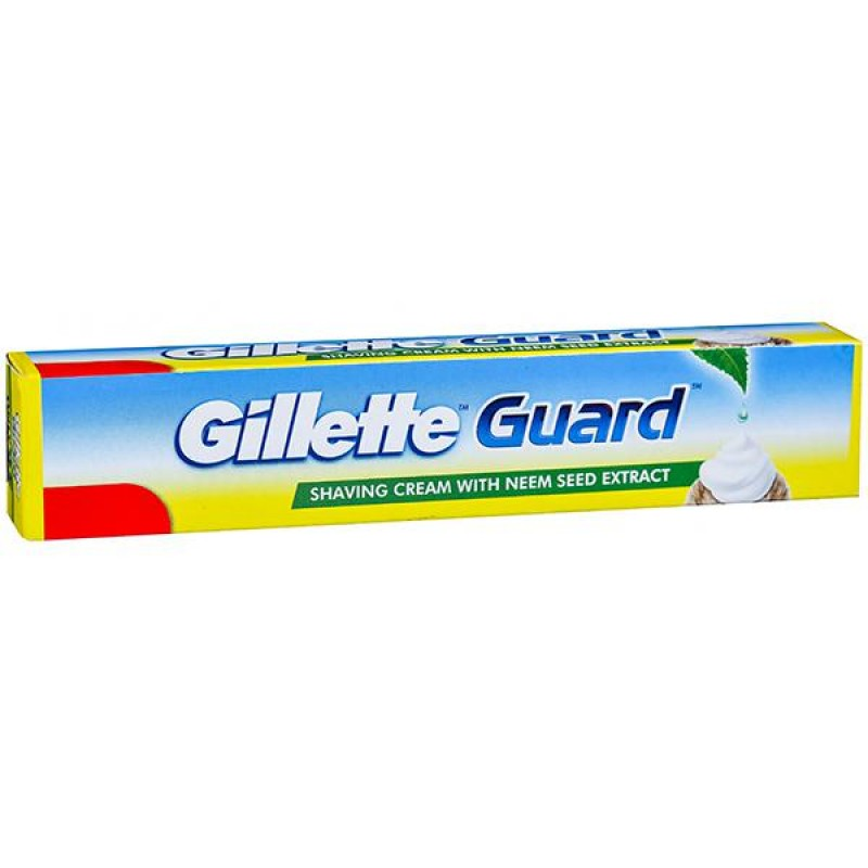 GILLETTE GUARD SHAVING CREAM WITH NEEM SEED EXTRACT 25G