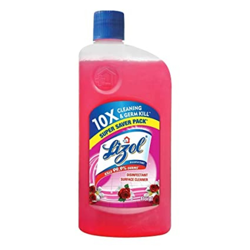 LIZOL SURFACE CLEANER FLORAL 975ML