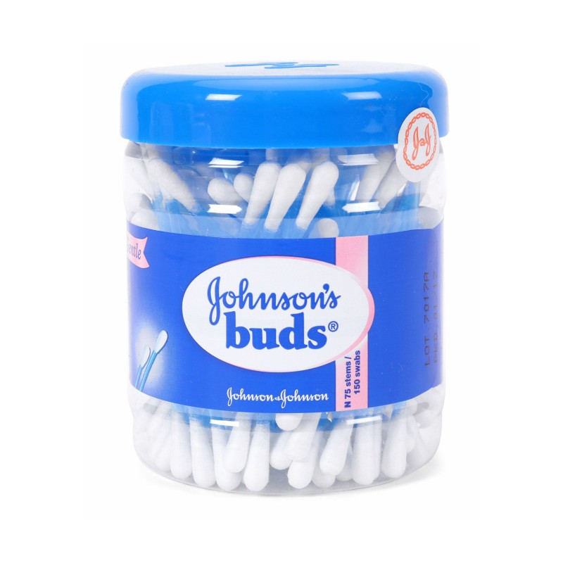 JOHNSON'S BABY BUDS (150 Swabs)