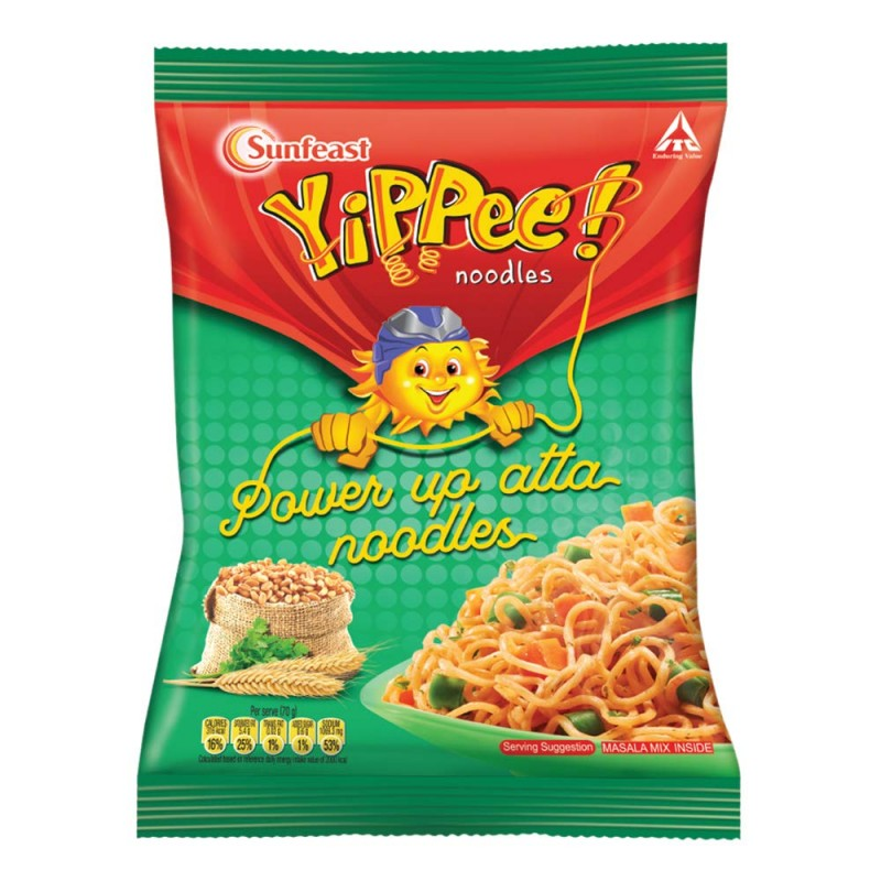 YIPPEE POWER UP AATA NOODLES