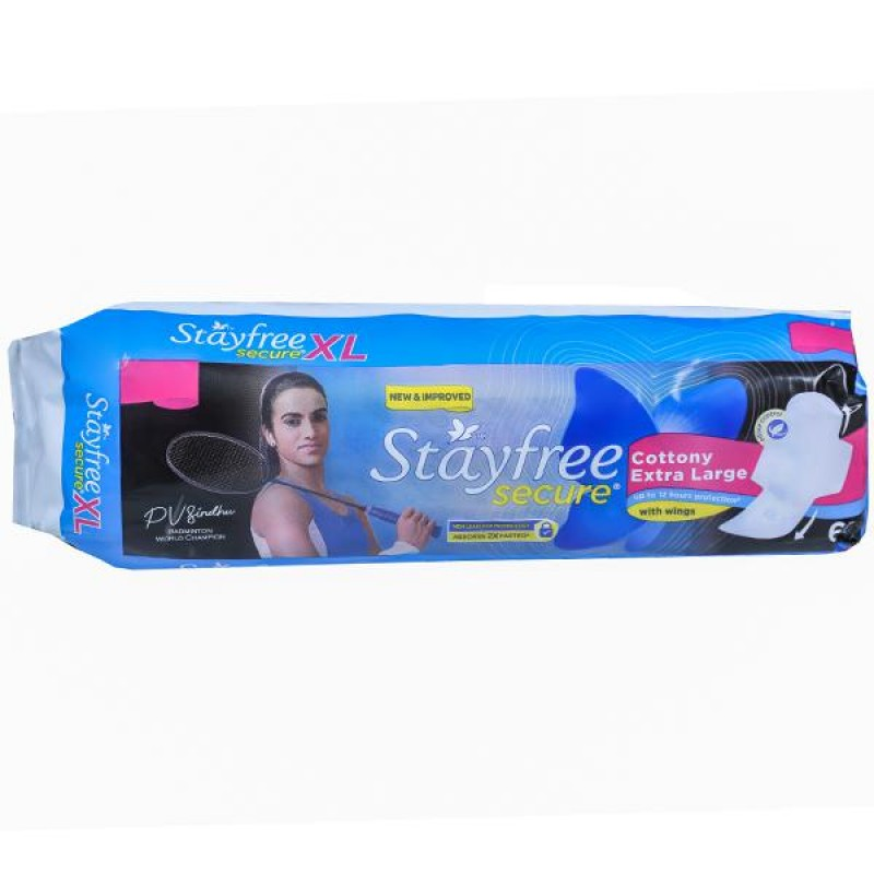 Stayfree Secure Cottony Soft XL With Wings